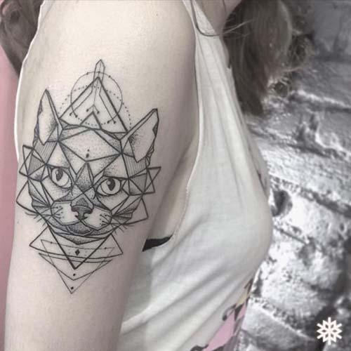 kedi dövmeleri cat tattoos 44