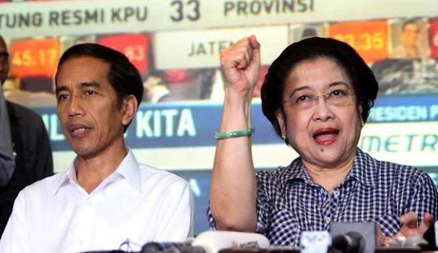 Tak Terima Jokowi Disebut Diktator, Megawati Minta Hadapi Jokowi Langsung