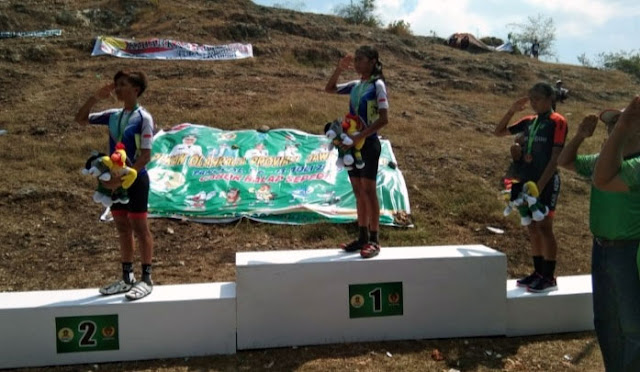 Atlet sepeda asal Lumajang raih medali emas