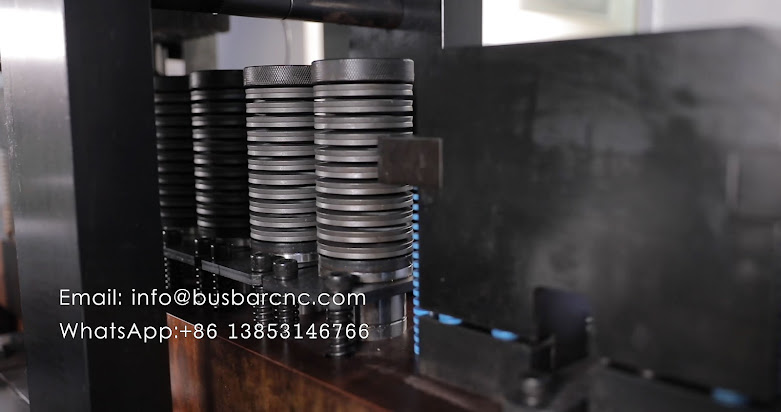 cnc busbar shearing punching machine