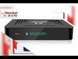 NEW SOFTWARE Starsat X1 PRO- X3 PRO JUILLET 2019
