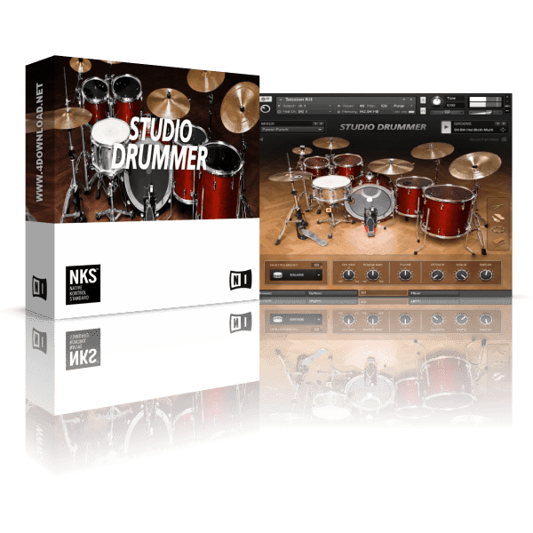 Native Instruments Studio Drummer KONTAKT Library