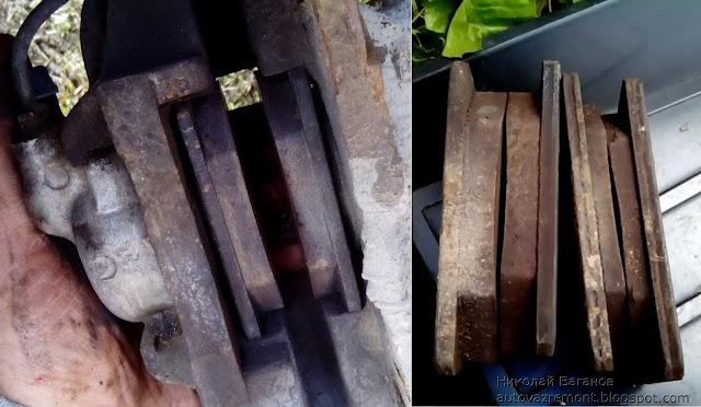 Замена передних тормозных дисков ВАЗ-2107 своими руками