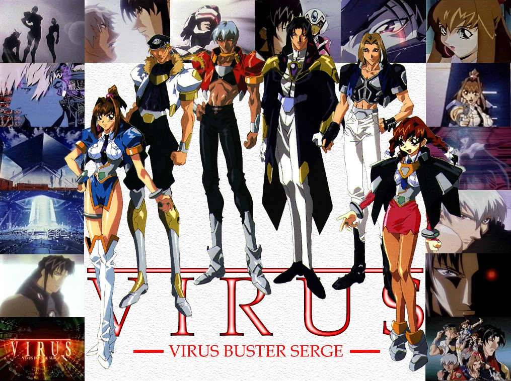 Moonlight Summoner's Anime Sekai: Virus Buster Serge ウイルス