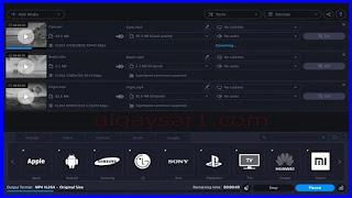 برنامج تحويل صيغ الفيديو إلى MP4