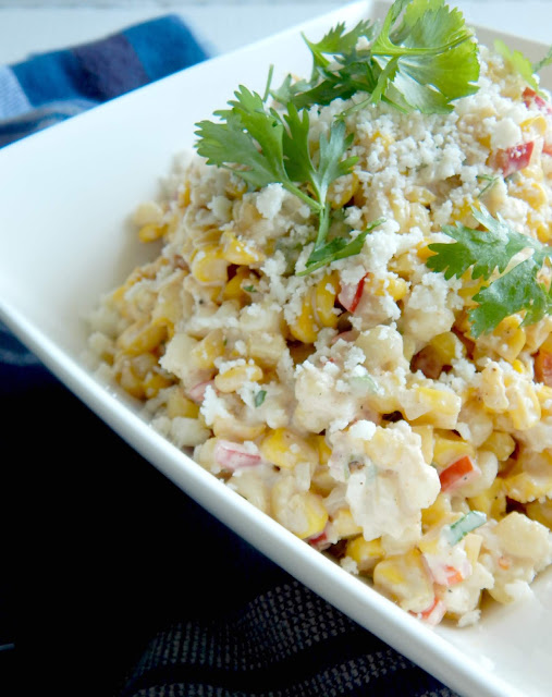 Mexican Street Corn Salad