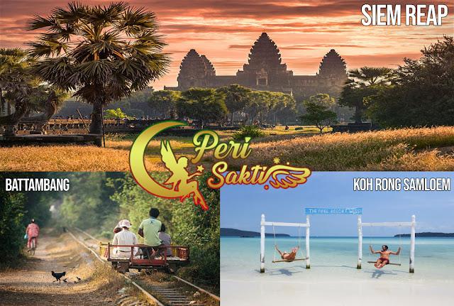 3 Tujuan Wisata Terpopuler di Kamboja