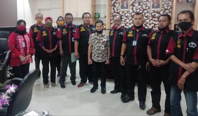 LSM Garda Nasional (GANAS) Kota Semarang Audiensi Ke Kantor Dinas Sosial Kota Semarang