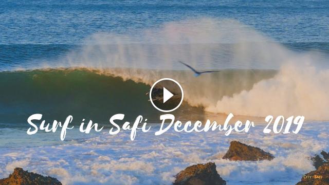 Surf in Safi December 2019