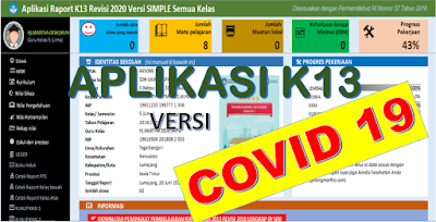 Download Aplikasi Raport K13 SD Semester 2