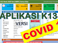 Download Aplikasi Raport K13 SD Semester 2 2020