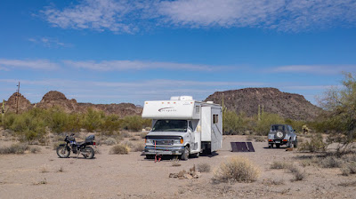 Now boondocking in Area B of the Barry Goldwater AF Gunnery Range