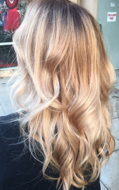 sombre blonde