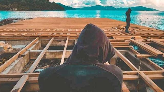 Memilih jenis kayu terbaik untuk dermaga