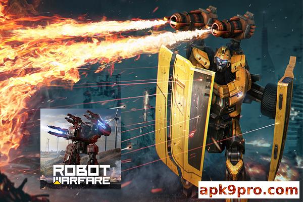 Robot Warfare: Mech battle v0.2.2310.1 Apk + Mod + Data File size 453 MB for android