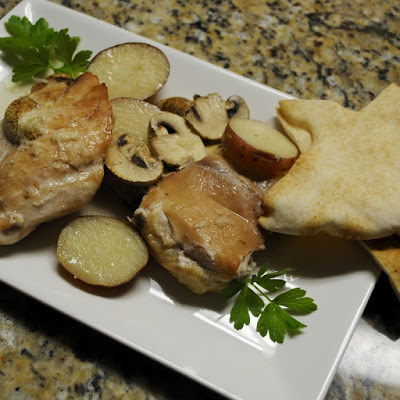 Lebanese-Style Chicken and Garlic