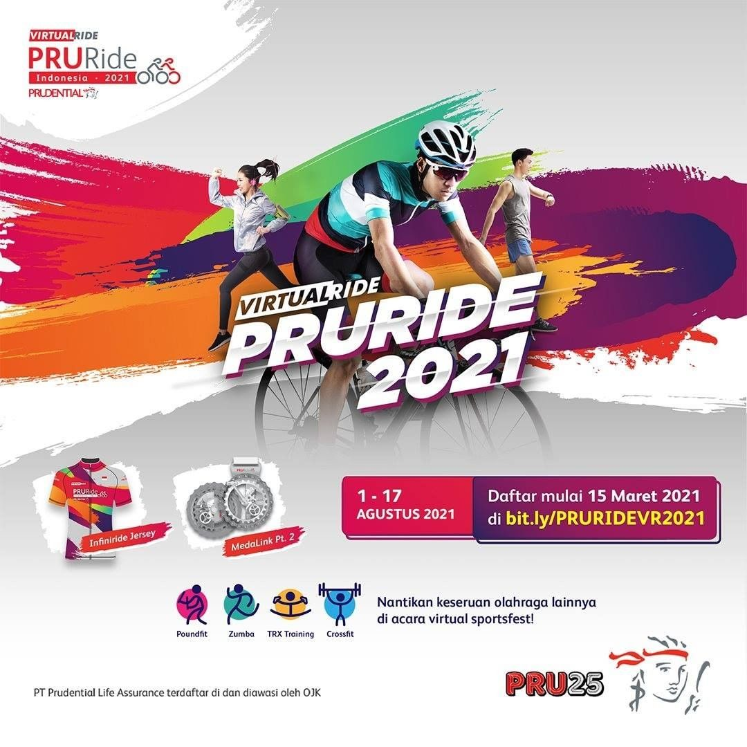 PRURide Indonesia Virtual Sports • 2021