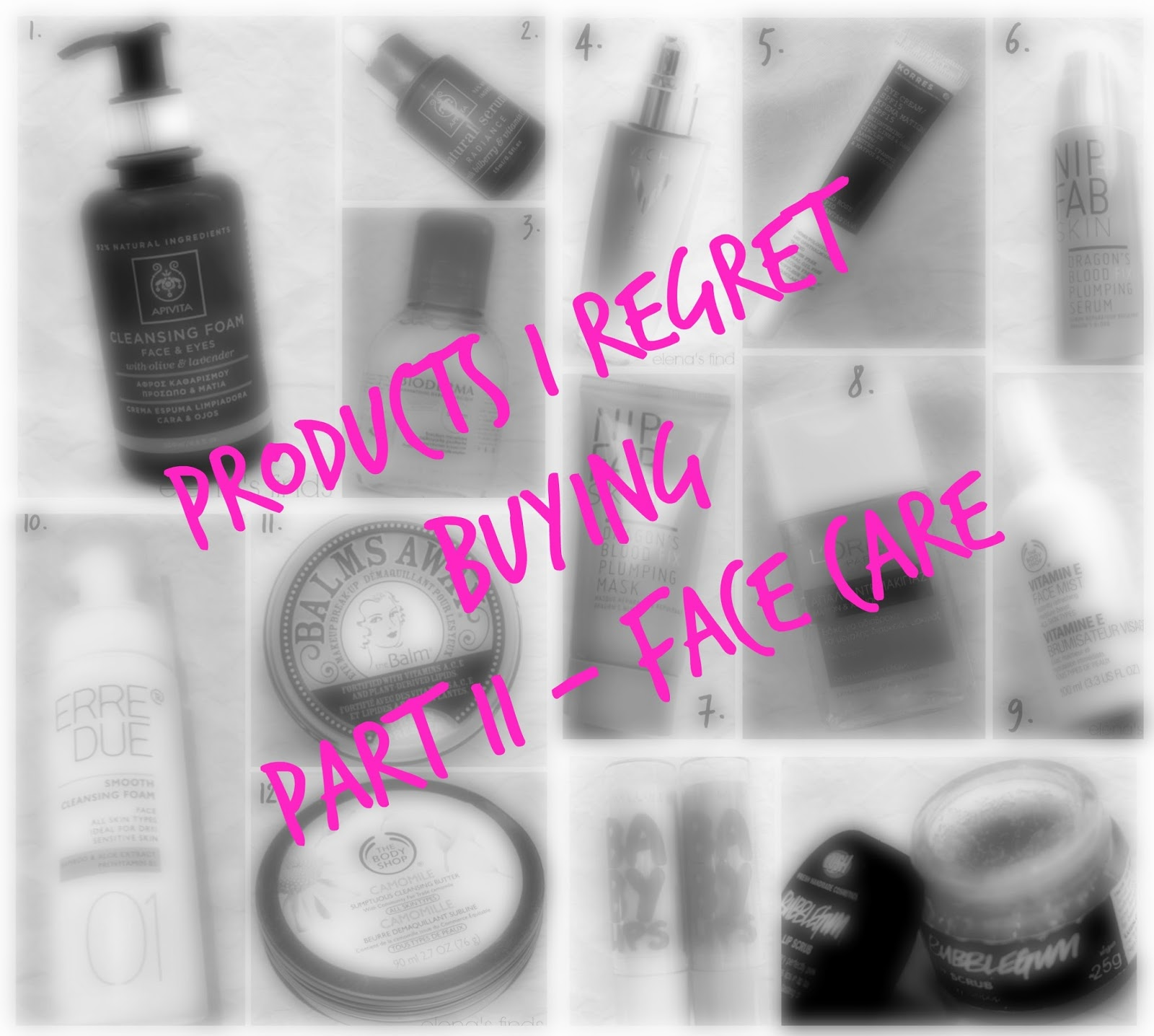 Products I Regret Buying Part II - Face Care  33cddc29f9e