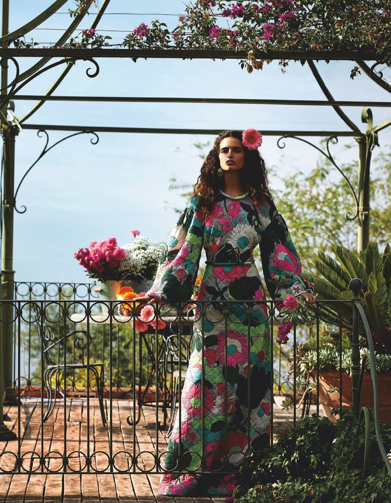 Vogue Japan March 2020 Editorial starring Chiara Scelsi