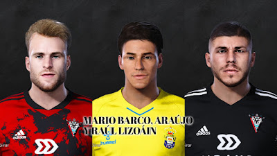 PES 2021 Facepack La Liga SmartBank Vol 11 by Dani