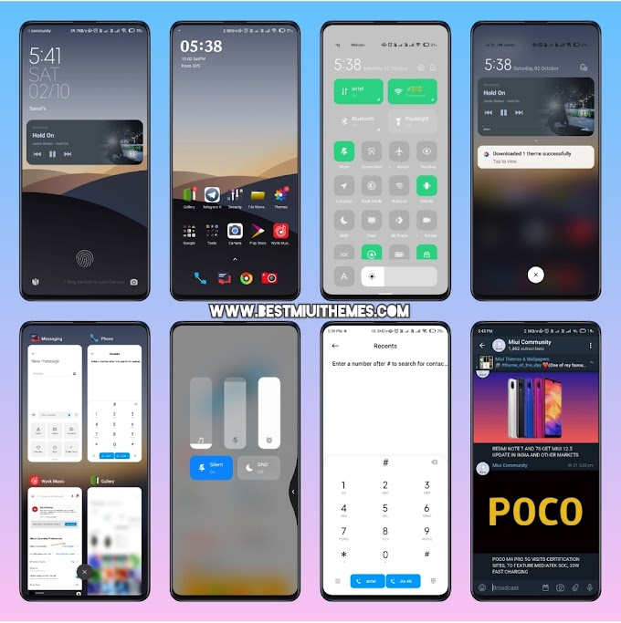 ColorOS 2020 Miui 12 Theme download || Best Miui 12 Themes Download || Xiaomi Themes