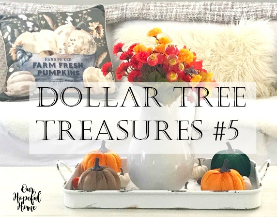 Our Hopeful Home Dollar Tree Treasures 5 Affordable