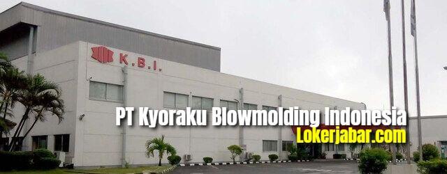 Lowongan Kerja PT Kyoraku Blowmolding Indonesia Karawang 2021