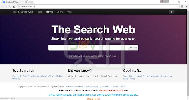 Thesearchweb.net (Hijacker)