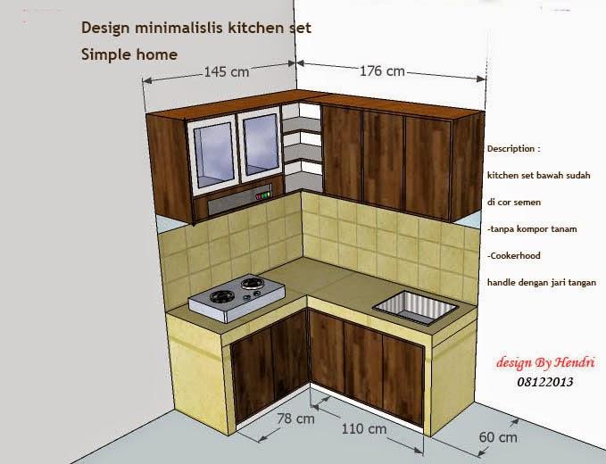 DEPOK DESIGN FURNITURE KITCHEN SET DESIGN minimalis