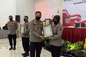 Alhamdulillah, Humas Polresta Banyumas Raih Penghargaan Terbanyak II Amplifikasi Semester I Tahun 2021