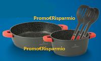 Logo Concorso ''50volteALDI'' e vinci 350 set di pentole e mestoli firmati ''Alessandro Borghese''