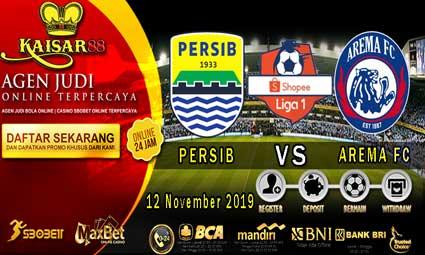 PREDIKSI BOLA TERPERCAYA PERSIB BANDUNG VS AREMA FC 12 NOVEMBER 2019