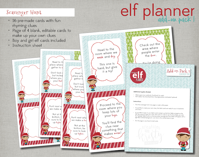 """Scavenger Hunt List >> more than 9 to 5...my life as """"Mom"""": the elf"""
