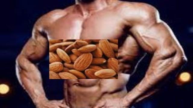 فوائد اللوز للعضلات