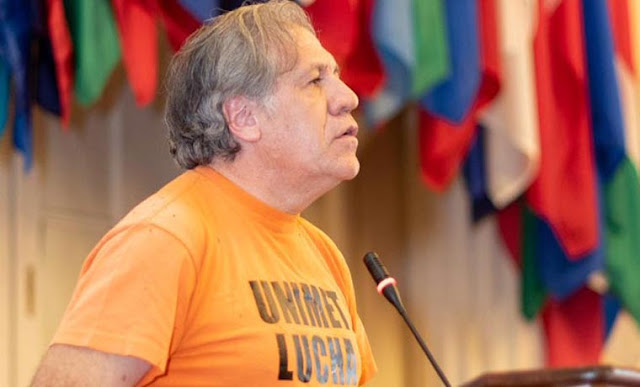 Almagro animó a los jóvenes venezolanos a impulsar el ingreso de ayuda humanitaria