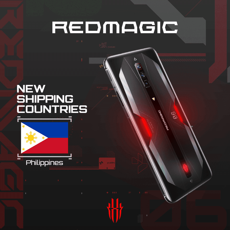 RedMagic devices now ships to PH via its global store