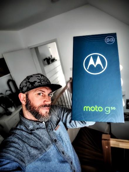 5G mit O2 und dem Motorola moto g 5G *plus | Es steht in den Startlöchern