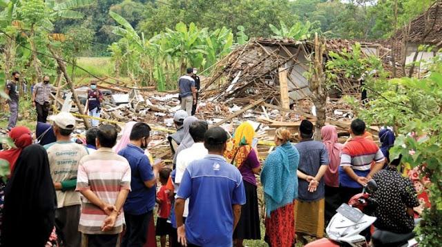 Ledakan Bondet Bukan Bencana, Pemkab Pasuruan Tak Bisa Bantu Korban