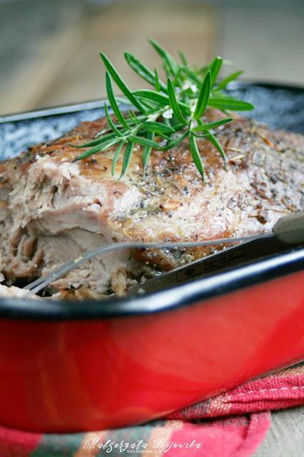 pieczona karkówka, co z wieprzowiny, mięso, obiad, daylicooking