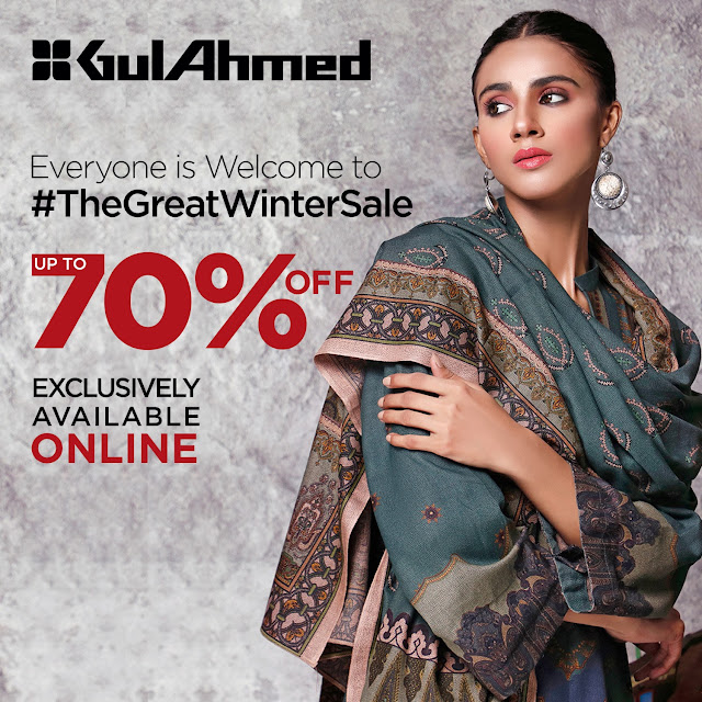 Gul Ahmed Winter Sale 2020-2021