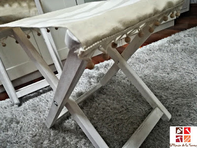 asiento plegable