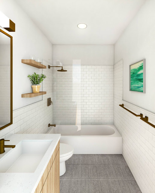 ห้องน้ำสวยๆ เรียบๆ