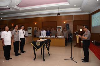 Kapolda Jambi Pimpin Penandatanganan Pakta Integritas Pejabat Eselon II ke Atas & Jabatan Strategis