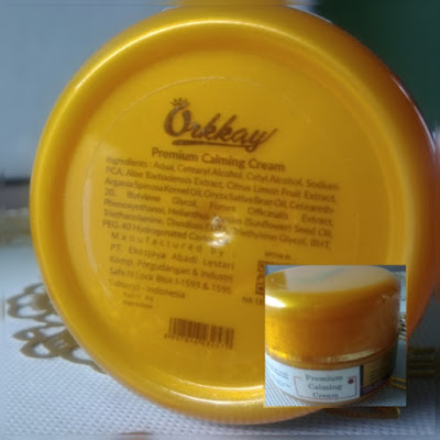 dengan premium white glow orkkay skincare merawat dan mencerahkan kulit
