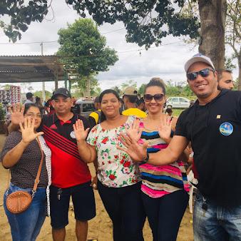 POTIRAGUÁ: MAURÍCIO PORTUGAL PARTICIPA DE TORNEIO DE FUTEBOL NA REGIÃO RURAL DOS QUATIS.
