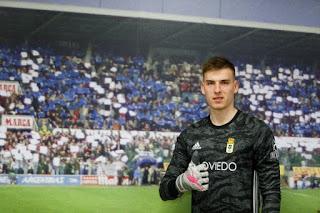 Oficial: Lunin cedido al Oviedo