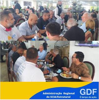 Encontro dos coordenadores do GDF Presente