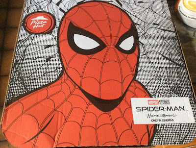 Spider-Man Homecoming Pizza Hut Box