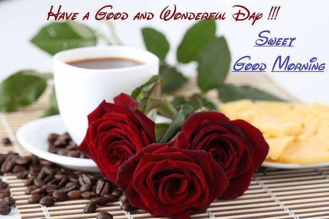 coffee With Good Morning wish
