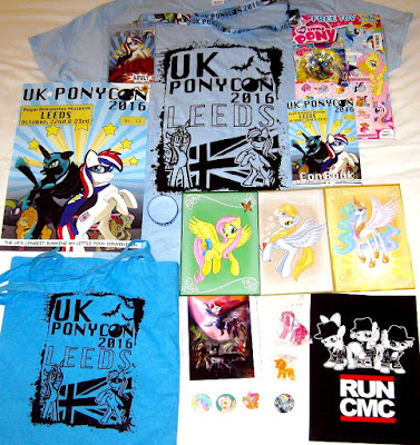 The stuff I bought at UK PonyCon 2016